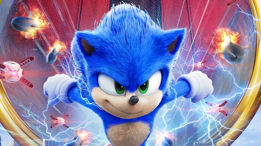 Sonic (Ben Schwartz) in Sonic the Hedgehog