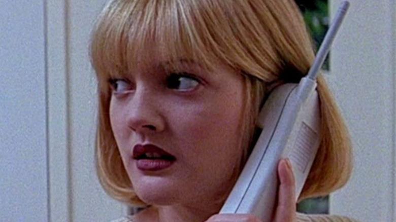 Drew Barrymore Scream on the phone