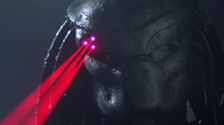 Predator helmet lasers