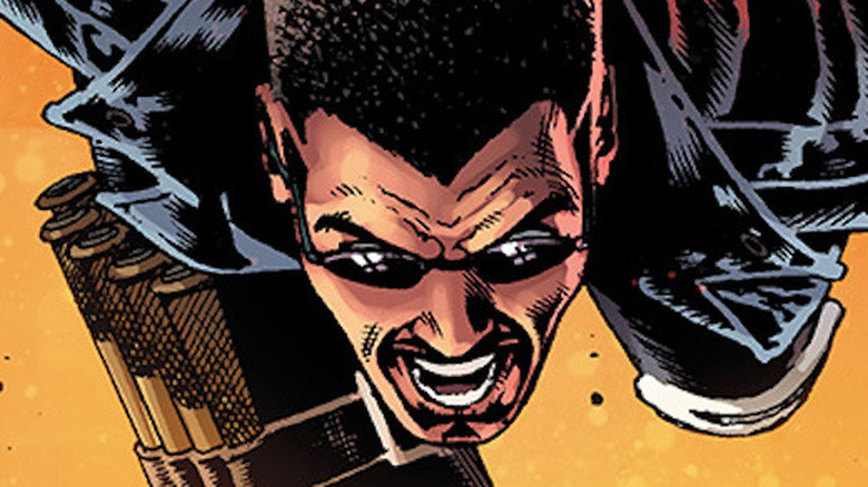 Blade as seen in the pages of Marvel Comics