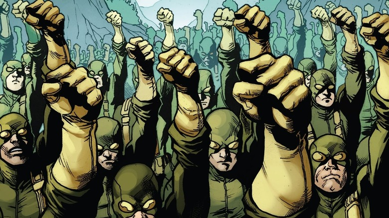 Hydra foot soldiers