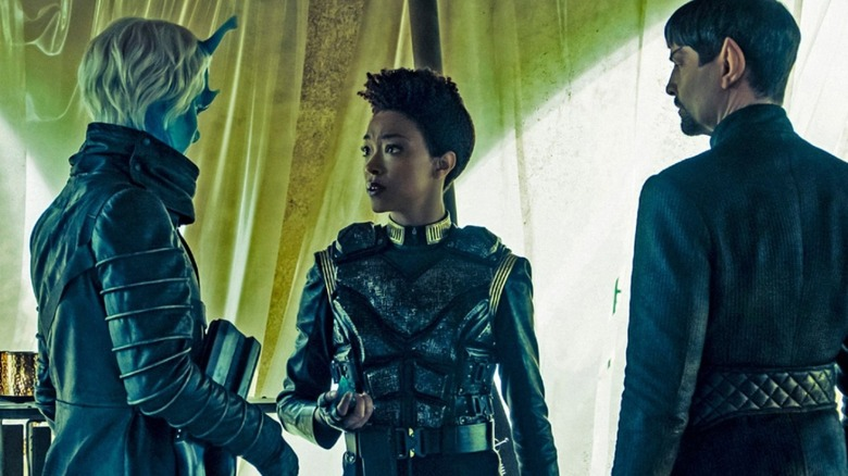 A shot from Star Trek: Discovery