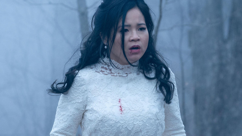 Kelly Marie Tran as Lauren Mills on Monsterland