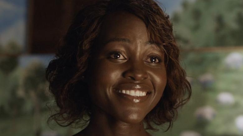Lupita Nyong'o smiling