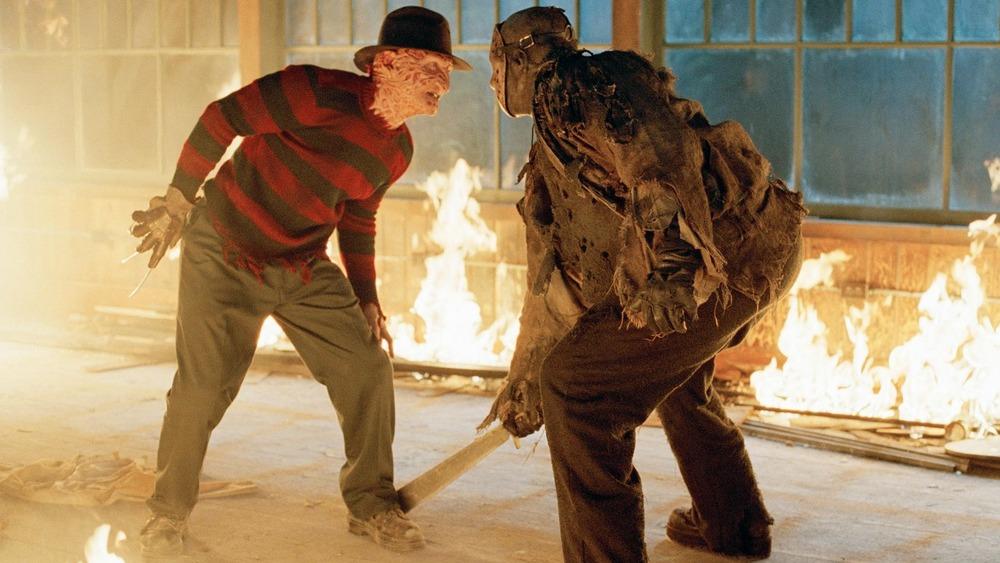 Freddy Krueger and Jason Voorhees