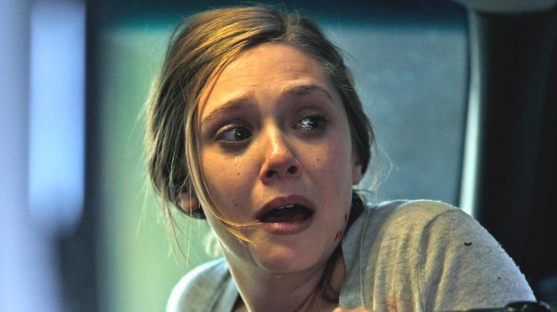 Elizabeth Olsen frightened in Silent House