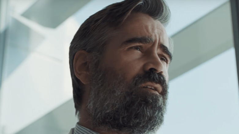Colin Farrell pondering grim fates