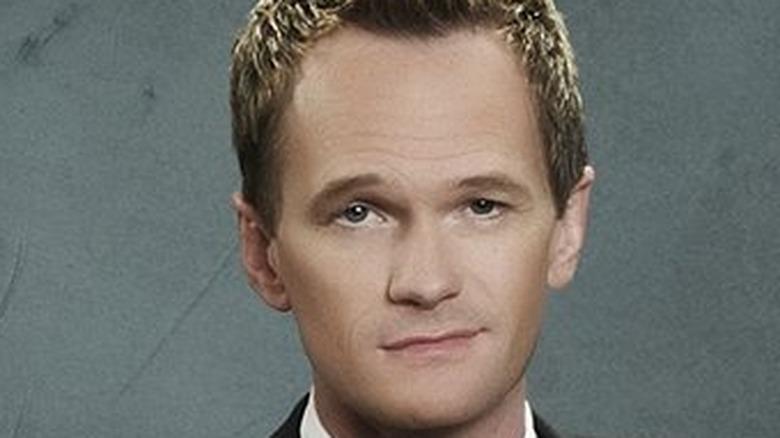 Barney Stinson smirking