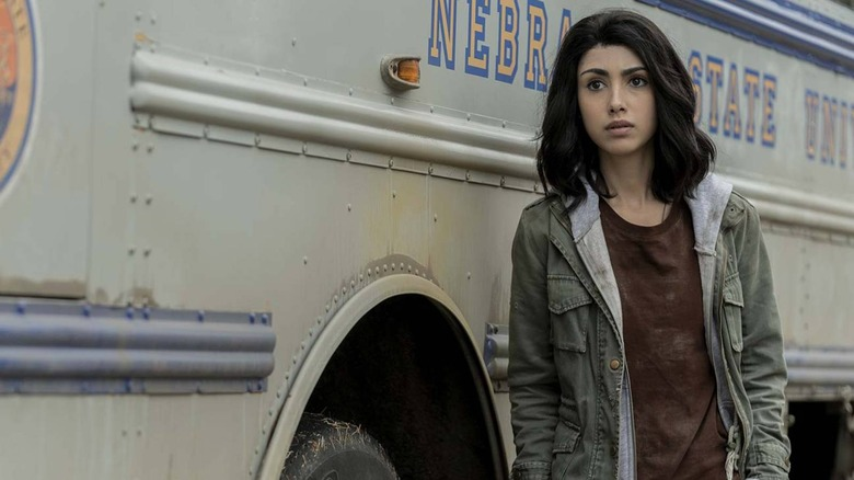 Alexa Mansour as Hope on The Walking Dead: World Beyond