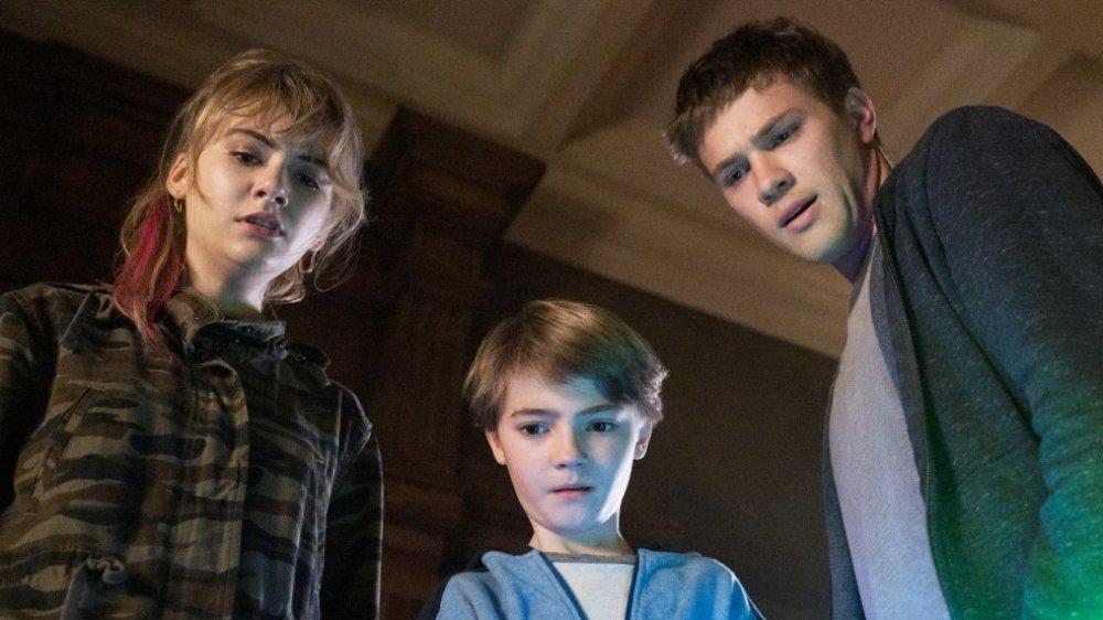The Locke family as seen on Locke & Key