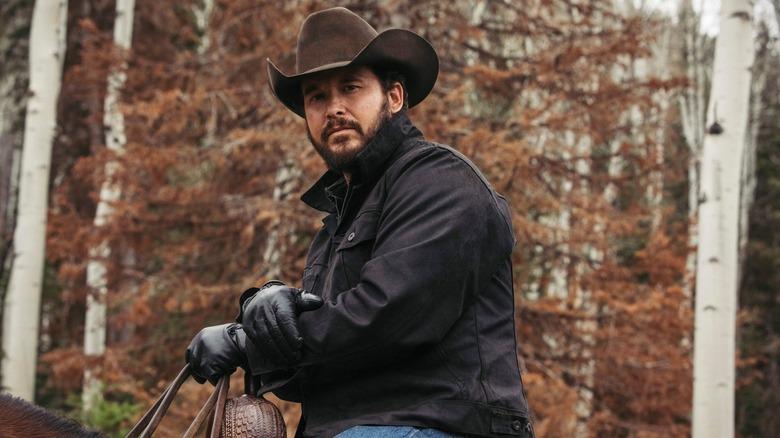 Cole Hauser plays Rip Wheeler on Yellowstone