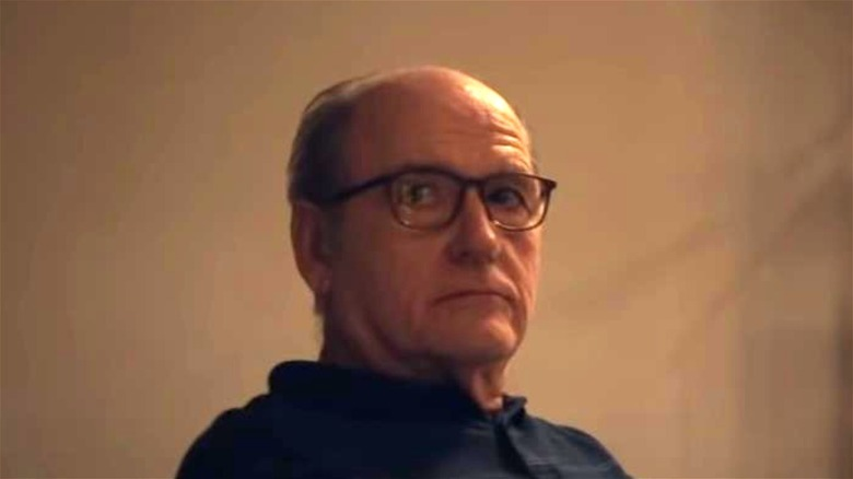 Richard Jenkins unhappy in The Humans