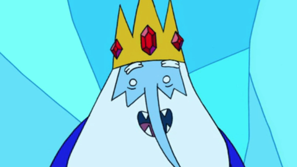 The Ice King in Adventure Time