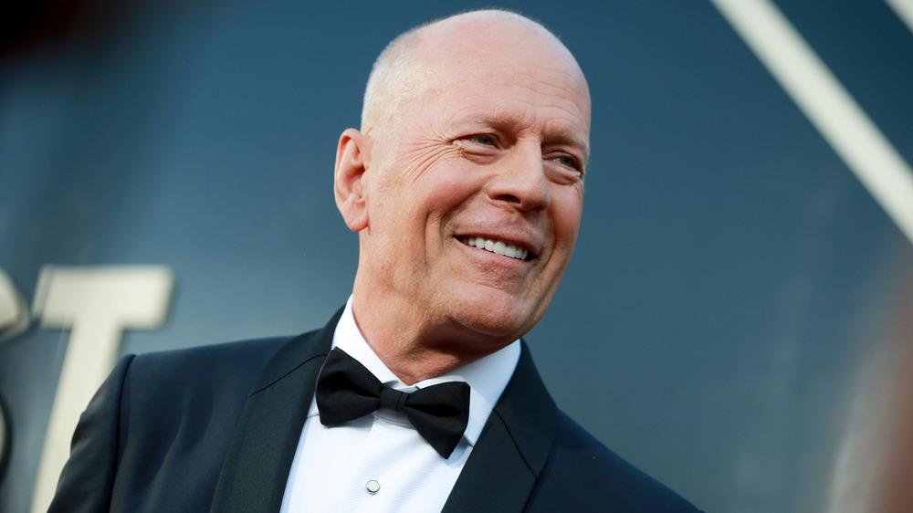 Bruce Willis smiling