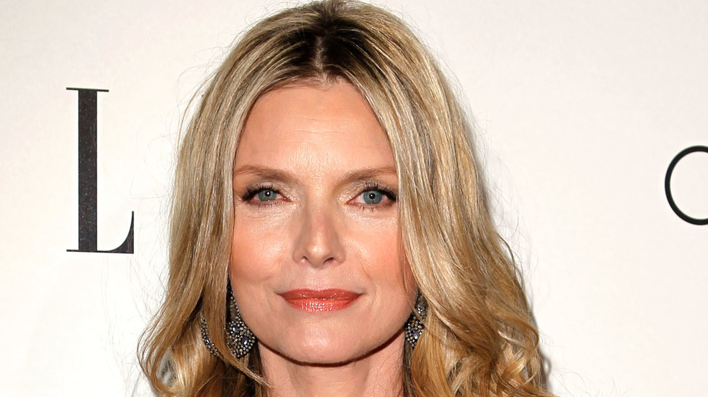 Michelle Pfeiffer posing