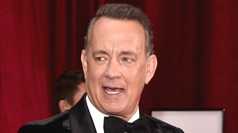 Tom Hanks speaking