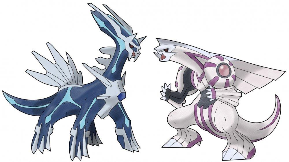 Dialga and Palkia from Pokemon Diamond and Pearl
