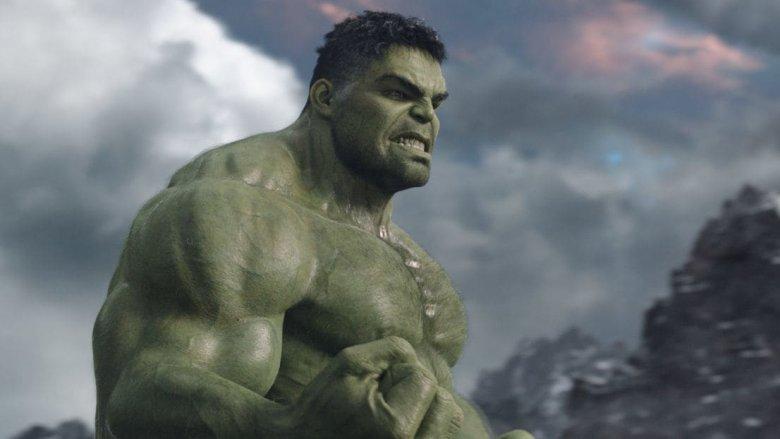 The Hulk in Thor: Ragnarok