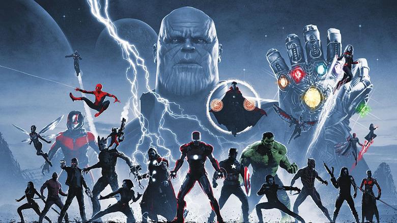 The Infinity Saga box set artwork