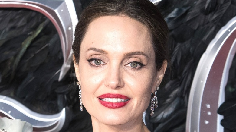 Angelina Jolie smiling at an event