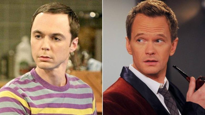 Sheldon Cooper and Barney Stinson
