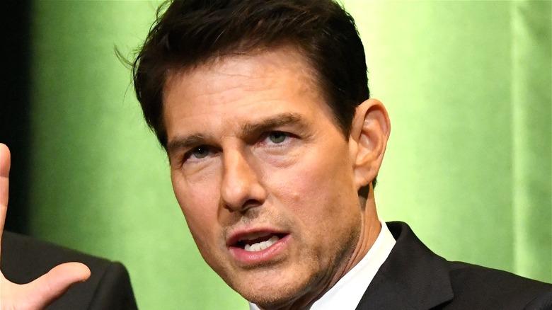 Tom Cruise headshot
