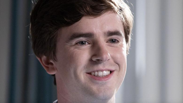 Good Doctor Freddie Highmore smiling