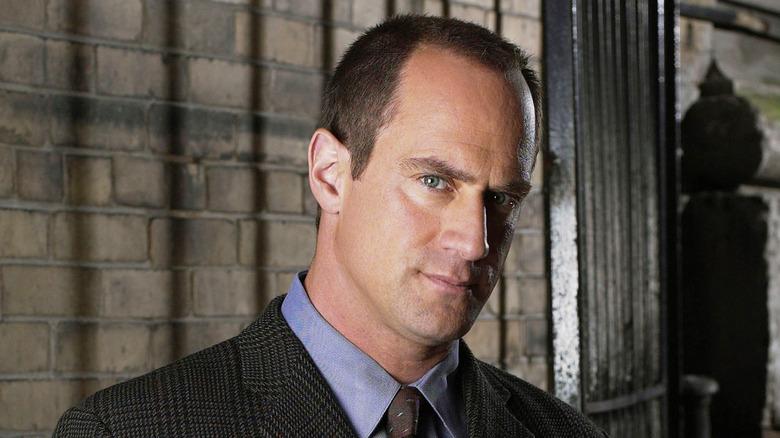 Christopher Meloni as Detective Elliot Stabler on Law & Order: SVU
