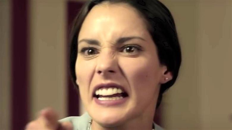 Juana yelling