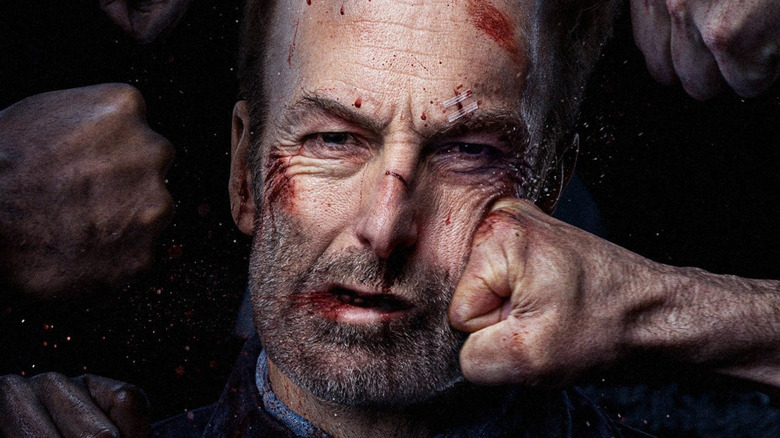 Bob Odenkirk punched in the face Nobody