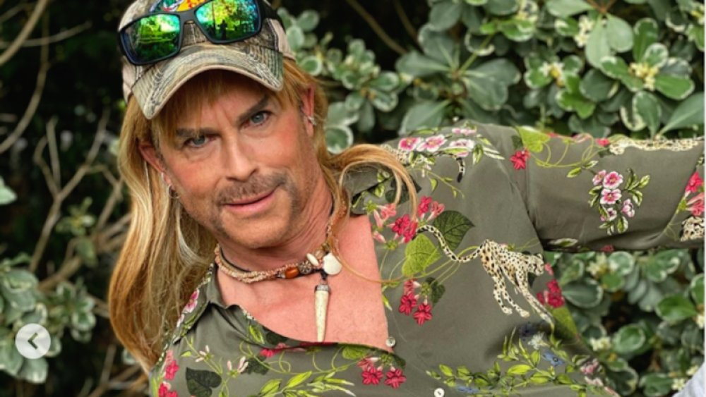 Rob Lowe as Joe Exotic from Tiger King