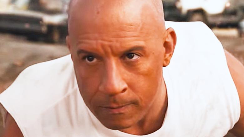 Dom Toretto white shirt