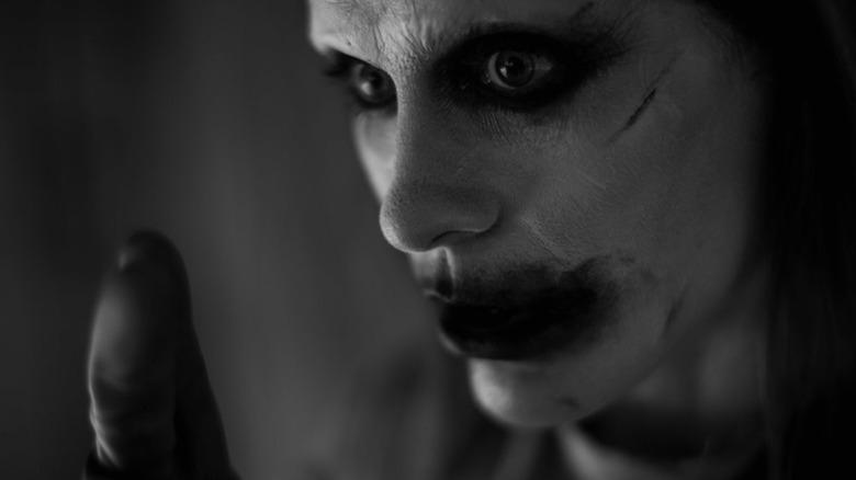jared leto joker close up