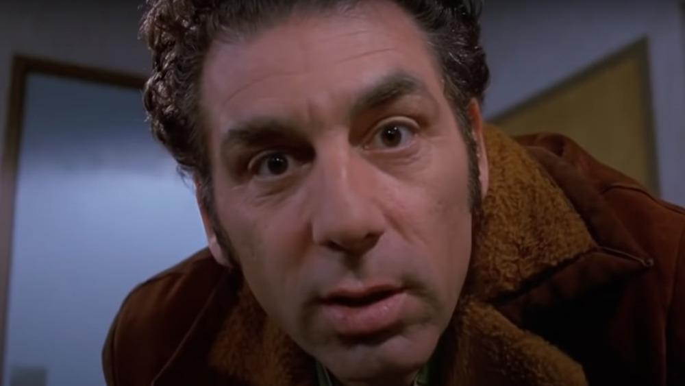 Michael Richards as Kramer in Seinfeld