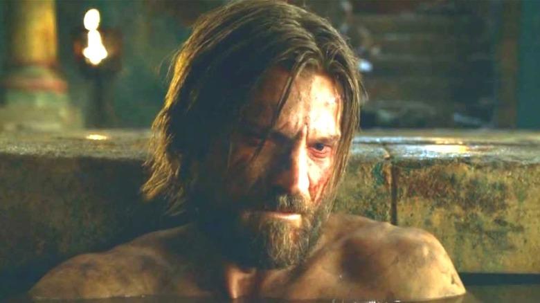 Jaime Lannister in bath