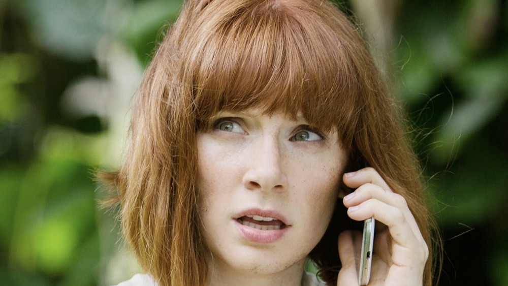 Jurassic World Claire phone