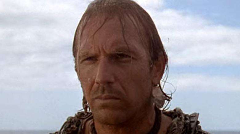 Kevin Costner wet hair