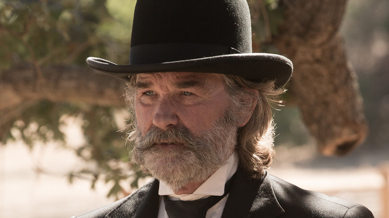 Kurt Russell looking concerned