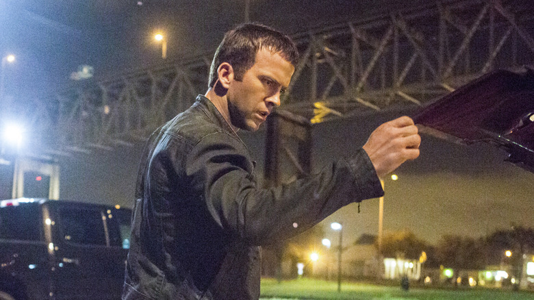 Lucas Black as Christopher LaSalle on 'NCIS: New Orleans'