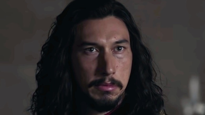 Adam Driver angry