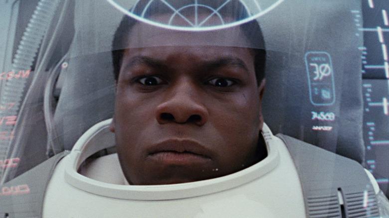 John Boyega as Finn in Star Wars: The Last Jedi