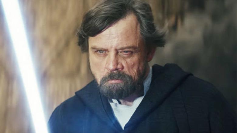 Mark Hamill Luke Skywalker Star Wars The Last Jedi