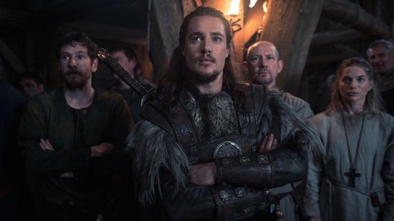 Alexander Dreymon as Uhtred prepares for an invasion of Bebbanburg on The Last Kingdom