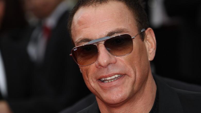 Jean-Claude Van Damme attends a ceremony