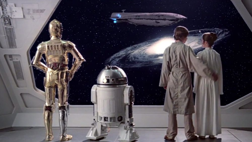 Scene from The Empire Strikes Back