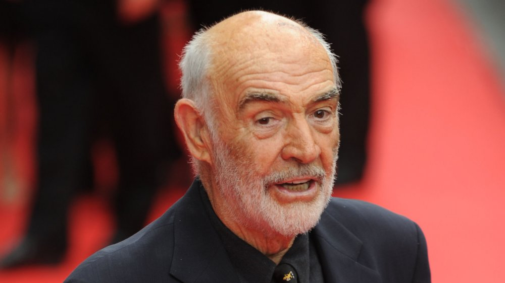 Sir Sean Connery on the red carpet