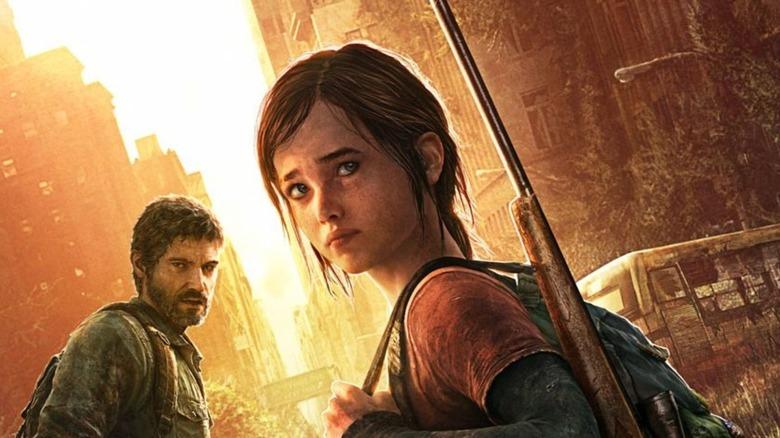 Ellie looking back