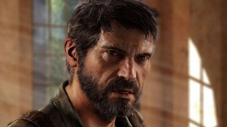 Joel looking angry