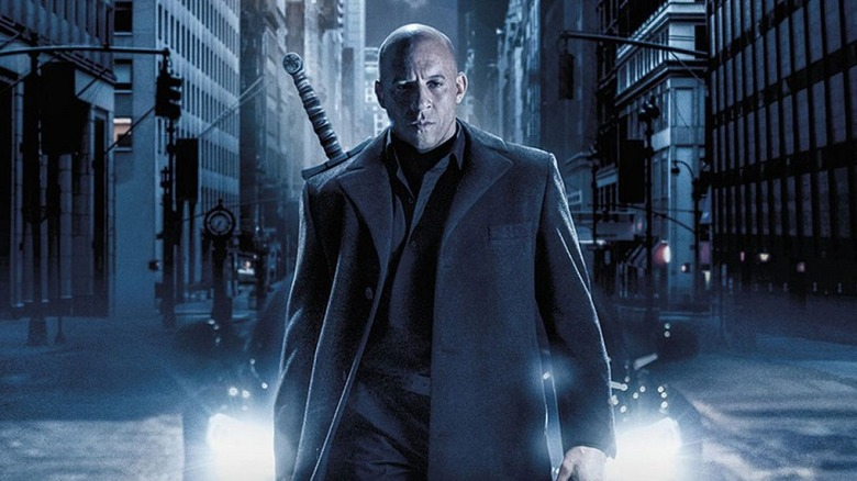 Vin Diesel in The Last Witch Hunter poster