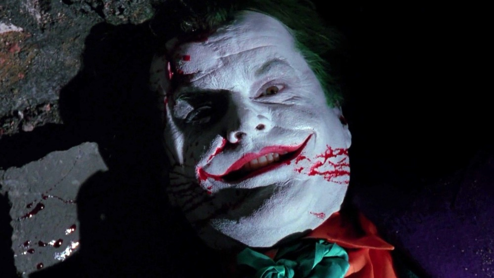Jack Nicholson as the Joker in 1989's Batman
